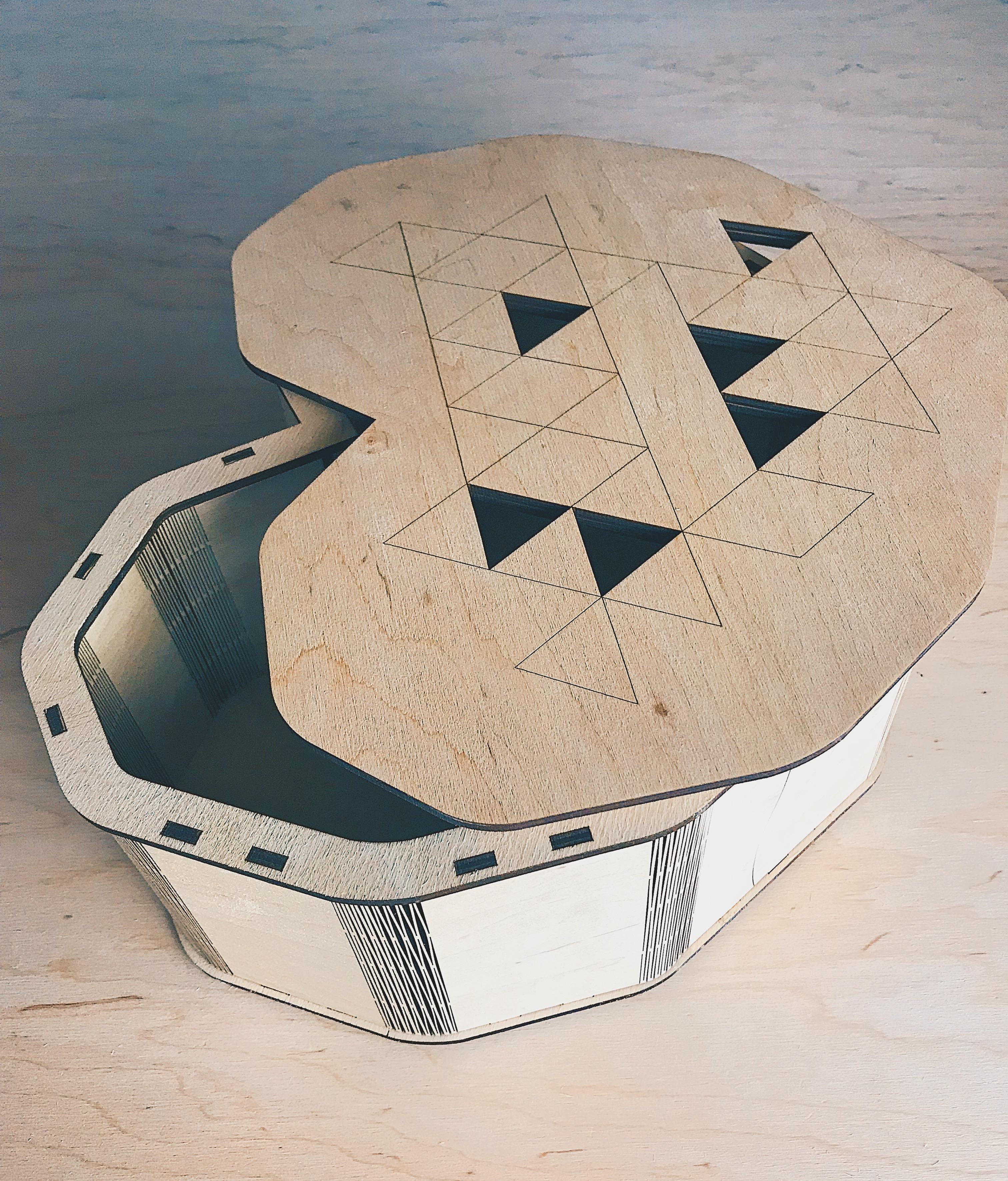 Коробка Сердце для ваших подарков