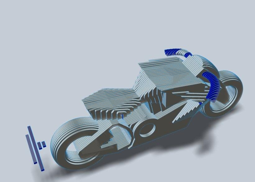 Лазерная резка 3d моделей BIENCRAFT