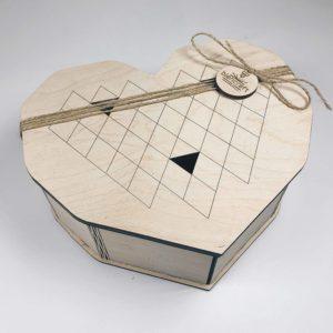 коробка сердце