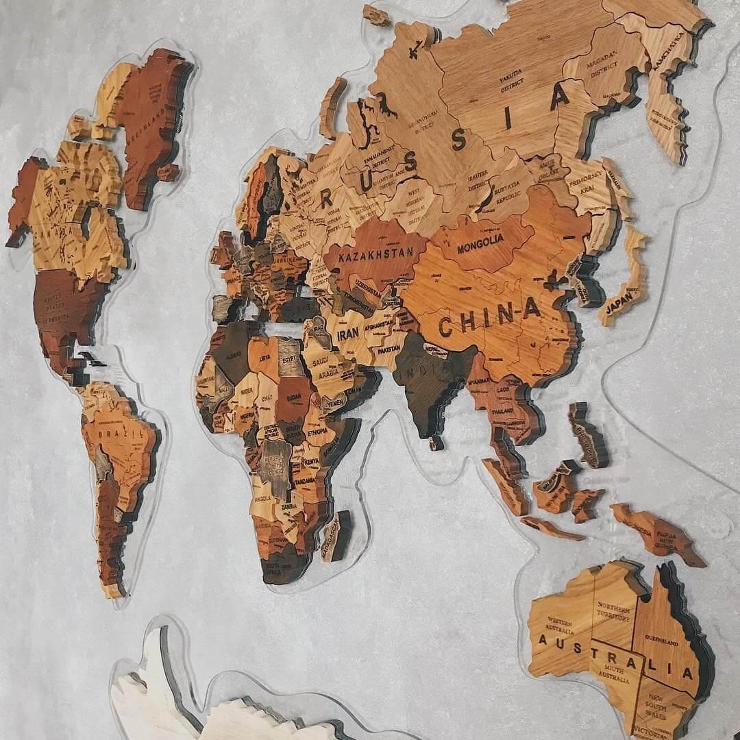 карта мира 10