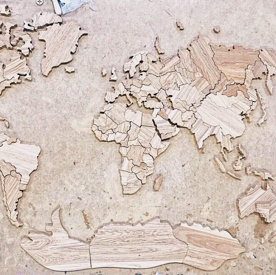 карта мира 7
